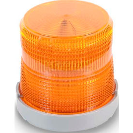 Edwards Signaling 48XBRMA24D Dual Mode LED Beacon Amber 24V DC