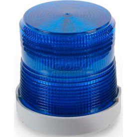 Edwards Signaling 48XBRMB120A Dual Mode LED Beacon Blue 120V AC