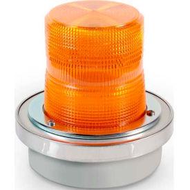 Edwards Signaling 50A-N5-40WH Flashing Beacon Amber 120V AC