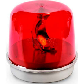 Edwards Signaling 58R-N5-100WH Rotating Beacon 100WH Red 120V AC