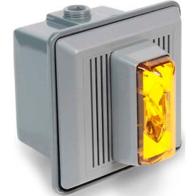 Edwards Signaling 868STRA-N5 Surface Mount Horn Strobe For Outdoor Use 120V AC Amber