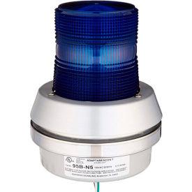 Edwards Signaling 95B-N5 Xenon Strobe With Horn Blue 120V AC