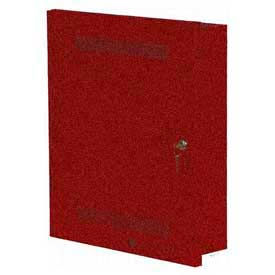 Edwards Signaling, ANS50MDR, 50 Watt Audio Notification Panel, Red Cabinet