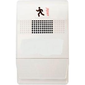Edwards Signaling, EG1-C, Wall Chime, Temp, Hi-Lo, White