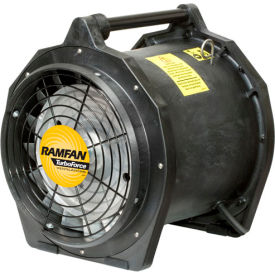 "Euramco Safety 12"" Intrinsically Safe Blower EB7201XX 3/4 HP 2500 CFM"