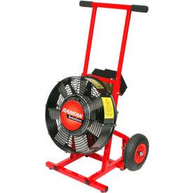 "Ramfan 16"" Electric Variable Speed Turbo Blower Model EX400 1-1/2 HP 9184/11391 CFM"