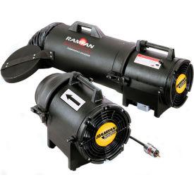 "Euramco Safety 8"" Intrinsically Safe Blower EF7002 1/3 HP 980 CFM"