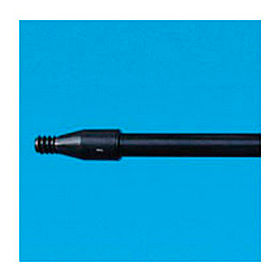 "60"" Fiberglass Handle With Nylon Plastic Threaded End 1""Dia. Black - BWK636"