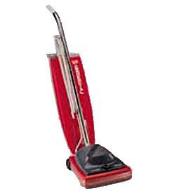 """Sanitaire® 12"""" Commercial Upright Vacuum W/ Vibra-Groomer II®, Red - EUKSC684F"""