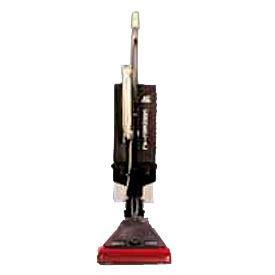 "Sanitaire® 12"" Commercial Upright Lightweight Bagless Vacuum W/ EZ Kleen®, Gray - EUKSC689"