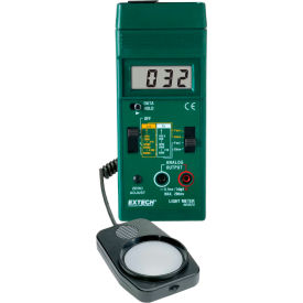 "Extech 401025-NIST Foot Candle/Lux Light Meter, Battery, 1.2""W, NIST Certified NIST Certified by"