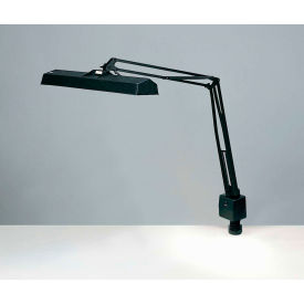 """Electrix 7227 Fluorescent Clamp-On Lamp, 45"""" Reach Swing Arm, 120V, 15x2W"""