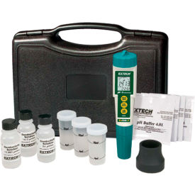 Extech EC510 Waterproof ExStik II pH/Conductivity Meter Kit, Electrode by