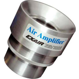 Exair Adjustable Air Amplifier Only, 1-1/4 In., Stainless Steel