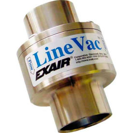 "EXAIR® Compressed Air Operated Line Vac™ Only 6061, Stainless Steel, 14.7 SCFM, 1"" Hose"
