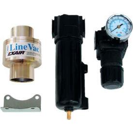 "EXAIR® Compressed Air Operated Line Vac™ Kit 6981, Aluminum, 14.7 SCFM, 1"" Hose"