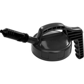 Oil Safe Mini Spout Lid, Black, 100401
