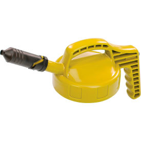 Oil Safe Mini Spout Lid, Yellow, 100409