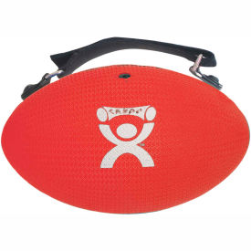 CanDo® Handy Grip™ Weighted Ball, 3 lb., Red