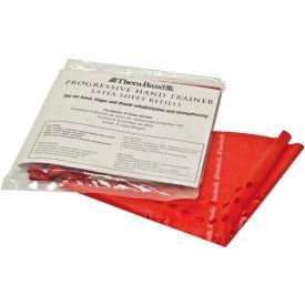 Thera-Band Progressive Hand Trainer, 6 Sheet Refills, Red, Light