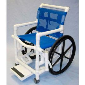 "Aqua Creek Heavy Duty PVC Pool Access Chair with 24"" Mesh Seat, 425 lbs. Capacity"