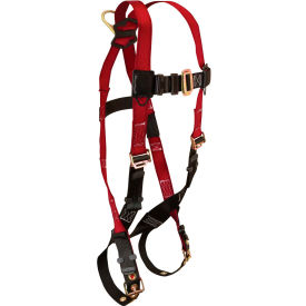 FallTech® 7008 Tradesman 1-D Full Body Harness, 1 Back D-ring, Size UniFit