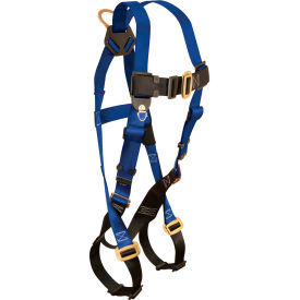 FallTech® 7015 Contractor 1-D Full Body Harness, 1 Back D-ring, Size UniFit