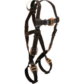 FallTech® 7051 Arc Flash Nylon Full Body Harness, Non-Belted, Size UniFit