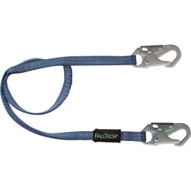 FallTech® 8206 6' Restraint Lanyard, Single Leg, with 2 Snap Hooks