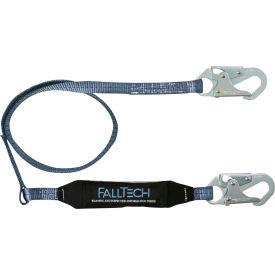 FallTech® 8256 ViewPack 6' Web Lanyard, Single Leg with 2 Snap Hooks
