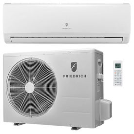 Friedrich Ductless Split System With Heat Pump MM18YJ - 18,000 BTU, 16 SEER, 208/230V