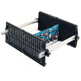 "Fancort Karry-All Model 79 Adjustable Conductive Medium PCB Rack, 21""W x 5-1/2""D x 15-1/4""H"