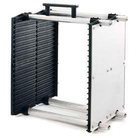 "Fancort Karry-All Model 79 Adjustable Conductive Medium PCB Rack, 9""W x 11""D x 15-1/4""H"