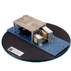 "Fancort Industries™ D300 12"" Dia. ESD Turntable 200 Lb. Cap."