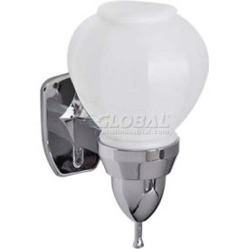 A&J Washroom Liquid Soap Dispenser U109, 16 Oz, Plastic Bulb, Surface Mounted