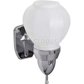 A&J Washroom Liquid Soap Dispenser U109, 16 Oz, Plastic Bulb, Surface Mounted
