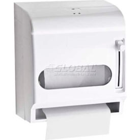 A&J Washroom Roll Towel Dispenser U199CP, Center-Pull, ABS, Surface Mounted