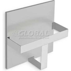 """A&J Washroom Surface Mounted Single Steel Bed Pan Rack, 11-5/8""""W x 4-9/16""""D x 12-1/2""""H"""