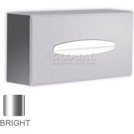 A&J Washroom Facial Tissue Dispenser UX196-BF-SM, Bright, Surface Mounted