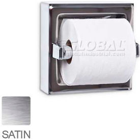 A&J Washroom Toilet Paper Dispenser UX70-SF-SM, Single, Satin, Surface Mounted