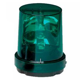 Federal Signal 121S-120G Rotating light, 120VAC, Green