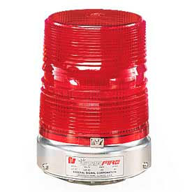 Federal Signal 131DST-120R Strobe double, 120VAC, Red