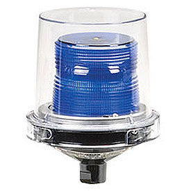 Federal Signal 225XL-120-240B Flashing LED light, hazard location, 120-240VAC, Blue