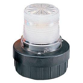 Federal Signal AV1-LED-024C Combination Audible/Visual Signal, flashing, 24VDC, Clear