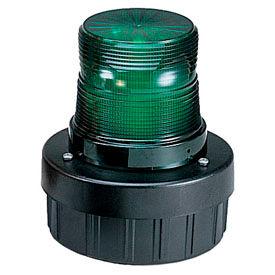 Federal Signal AV1-LED-024G Combination Audible/Visual Signal, flashing, 24VDC, Green