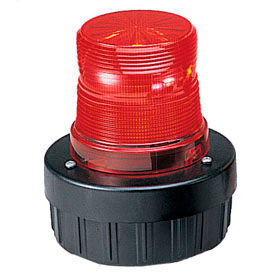 Federal Signal AV1ST-024R Light/sounder combination, strobe, 24VDC, Red
