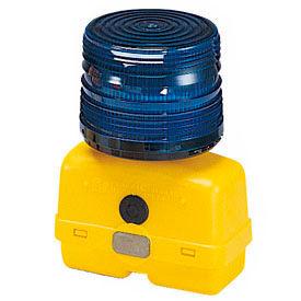 Federal Signal BPL26L-B Strobe light, battery-poweRed 12VDC, Blue