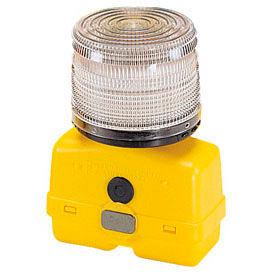 Federal Signal BPL26L-C Strobe light, battery-poweRed 12VDC, Clear