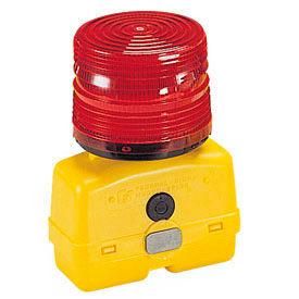 Federal Signal BPL26L-R Strobe light, battery-poweRed 12VDC, Red