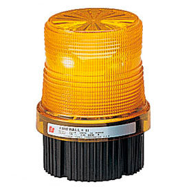 Federal Signal FB2PST-012-024A Strobe, 12-24VDC, pipe/surface mount, Amber